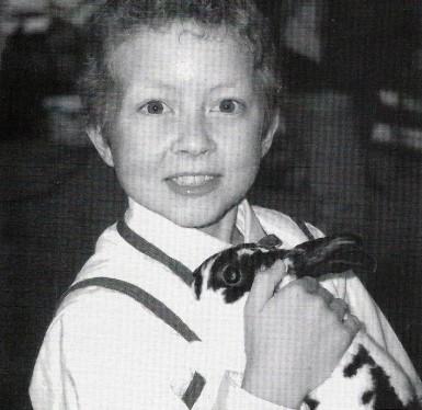 4-H Kid with Rabbit