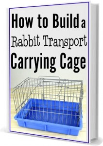 Book Cover - How to Build a Rabbit Transport Cage.-Sizedjpg